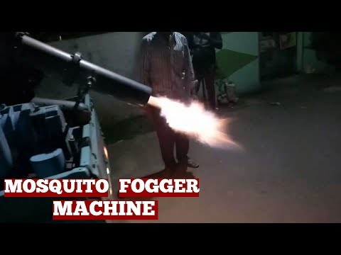 Mosquito Fogger Machine For Mosquito Pest Control By Local Municipal Services