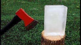 AXE VS ICE TEST