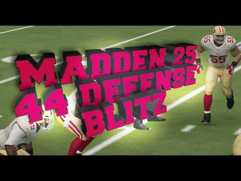 Madden 25 Easy 4-4 Defense Blitz & Coverage Scheme