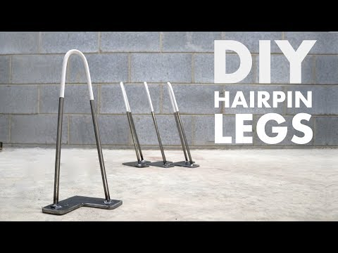 How to Make Hairpin Legs | EASY