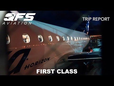 TRIP REPORT   Horizon Air - E175 - Seattle (SEA) to Sacramento (SMF)   First Class