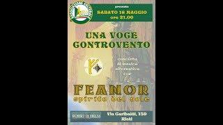 Feanor -  Il Cavaliere Senza Tempo (live Rieti 18.05.2019)