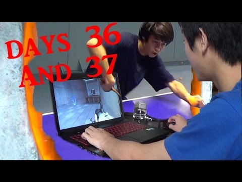 Portal and Banana Flips - China Day 36 and 37
