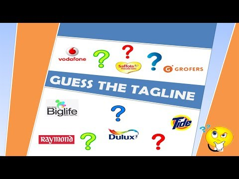 Quiz Can You Guess The Products To These Tagline/Punchline