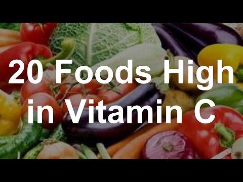 20 Foods High in Vitamin C