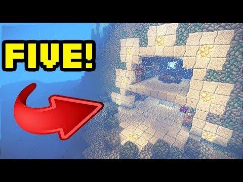 Minecraft: 5 Amazing Underwater House/Base Turorials