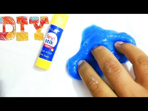 DIY Fevicol Stretchy Glue Stick Slime Without Borax | 1 Ingredient Indian Product Slime recipe