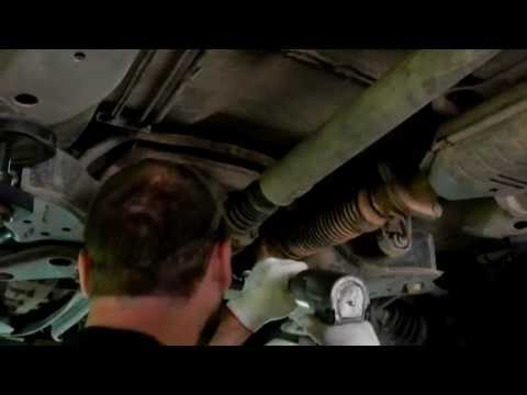 Exhaust Flex Pipe Replacement on Ford Escape