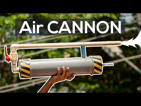 How to Make a Compressed Air Cannon | 4K | YTS