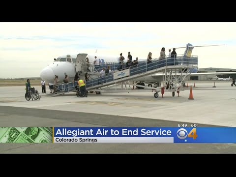 Airline Leaves Colorado Airport Because Of Low Demand