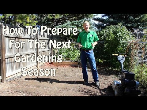 How To Prepare For the Next Gardening Season