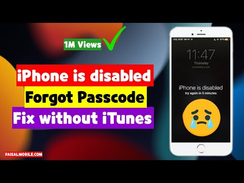 How To Fix Iphone Disabled Forget Passcode Without iTunes New Easy Method 2017
