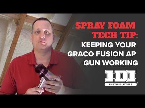 Maintaining the Fusion AP Gun