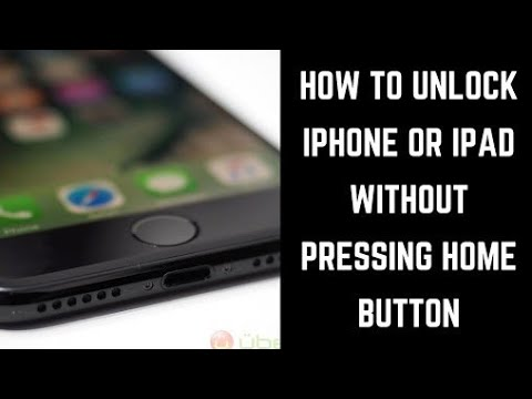 How to unlock your iphone with broken home button ios10