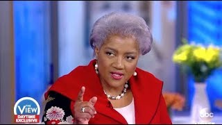 Donna Brazile: Heated Discussion On Her DNC Tell All Book - The View