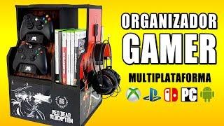 ORGANIZADOR GAMER - Mueble para VIDEOJUEGOS