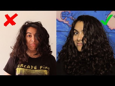 Curly Hair Routine for Definition |  How to Style Series Pt. 1