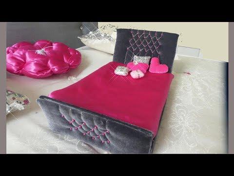 BARBIE DOLL HACKS/DOLLS BED DIY