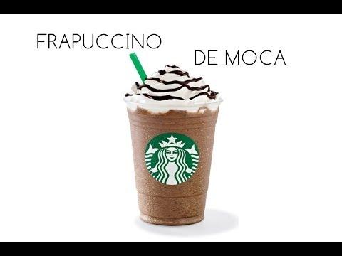 Receta: FRAPUCCINO DE MOCA/ STARBUCKS MOCHA FRAPPUCCINO