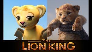LEGO The Lion King 2019 - Official Teaser Trailer - Side by Side version!