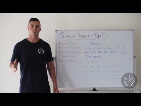The 5 Minute Journal - Cosnett Training Systems