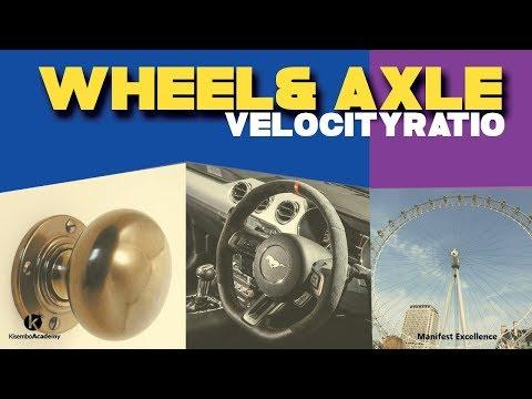 wheel and axle | Velocity ratio of wheel and axle | - Kisembo Academy
