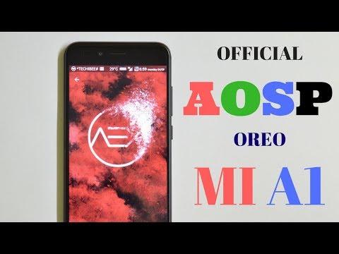 | Official | AOSP Extended Oreo 8.1 For Mi A1!!!!