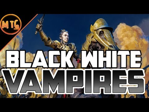 Black White Vampire Tribal in Rivals of Ixalan Standard! Competitive Deck Tech!