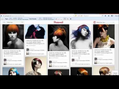 Hướng dẫn sử dụng Pinterest tạo backlink dofollow và làm Marketing - bài 2