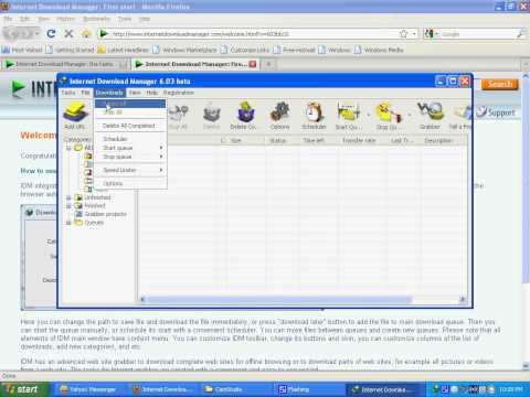 HOW to download any flash video from web  by IDM exp : youtube.daily..