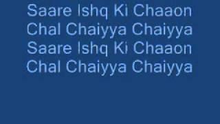 Sharuhk Khan-Chaiyya Chaiyya-Lyrics