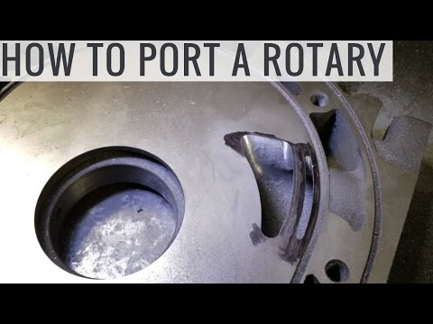 How to Port a Rotary Engine For More Power