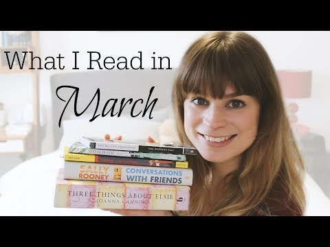 Reading Wrap Up | March 2018 PART 1
