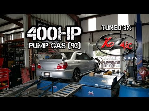 Car Build: 04 Subaru WRX STi Ep. 11 - 400HP Kozmic Motorsports Tune