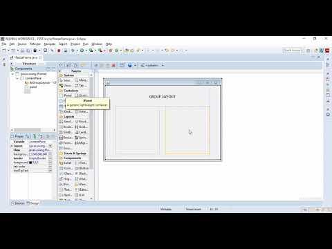 How to Automatically size JPanel inside JFrame