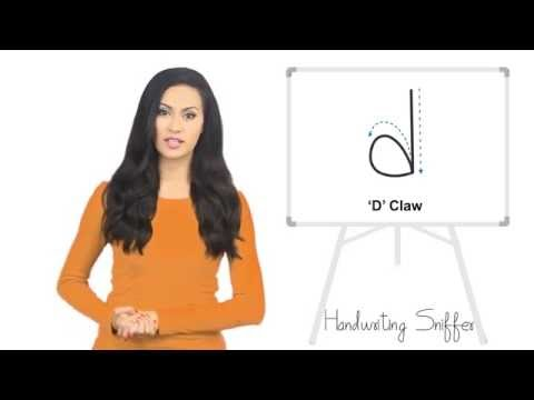 Graphology: 7 Secrets Of Letter 'D' With A Claw