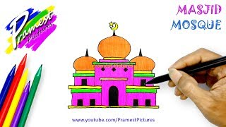 How To Draw Mosque Videos 9videos Tv