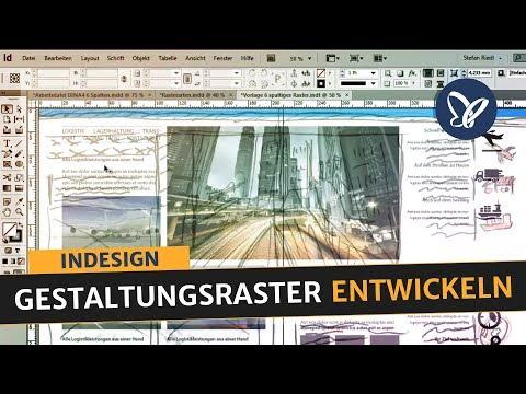 InDesign Tutorial: Gestaltungsraster entwickeln, Satzspiegel aufbauen, Folder erstellen