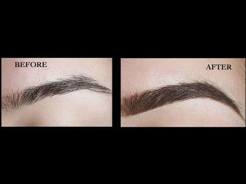 How to Get Thick Eyebrows Naturally Fast | Dark Eyebrows | Thick Eyebrows