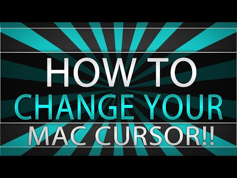 How to Change Your Mac Cursor!