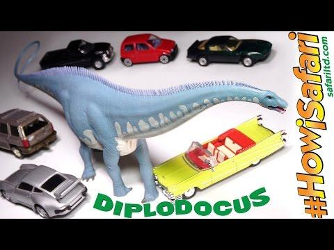 NEW 2017 Safari Ltd DIPLODOCUS Dinosaur Figure! It's LOOOOONG! #HowiSafari