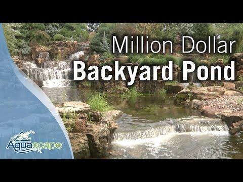 Million Dollar Backyard Pond