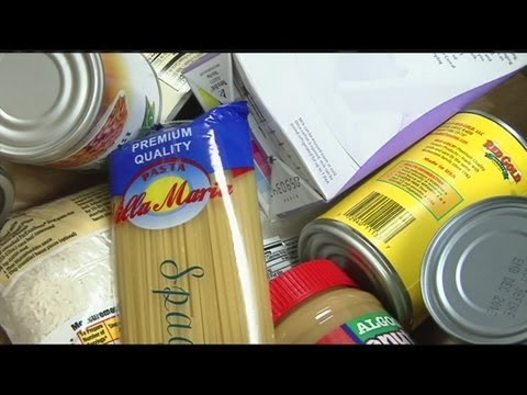 Some families barely getting by with food donations low
