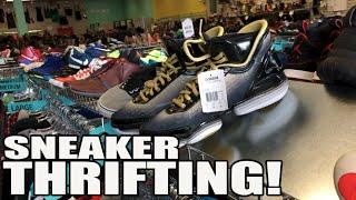 Thrifting For Sneakers At Platos Closet