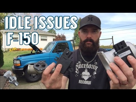 Car / Truck Won't Run or Idle / Fix - F150 is the patient