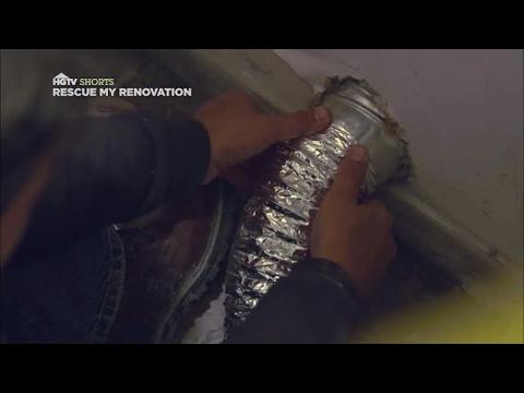 Dryer-Vent Installation Tips | Rescue My Renovation | HGTV Asia