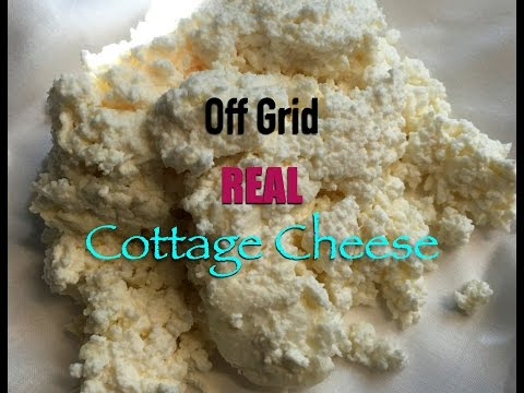Making Off Grid Cottage Cheese From Raw Milk~