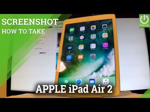 How to Take Screenshot on APPLE iPad Air 2 - Capture Screen