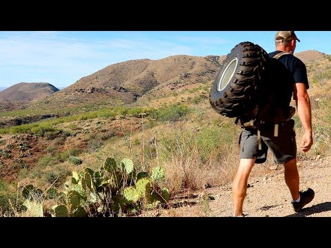 Backcountry Tire Change... and other random things :)