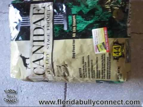 CANIDAE DOG FOOD MY DOGS LOVE THIS STUFF!! TRY IT!!!